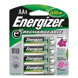 Energizer Nickel-Metal Hydride Video Game Systems Battery For Nintendo Wii