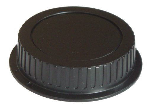 Objektiv-Rückdeckel schwarz passend für Canon 1D, 5D, 5D Mark II, 6D, 20D, 30D, 40D, 50D, 60D, 350D, 400D, 450D, 500D, 550D, 600D, 650D, 1000D, 1100D