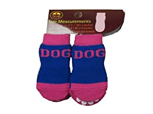 Buy Pet Life Dpf09912 4 Pack Anti Skid Soft Cotton Dog