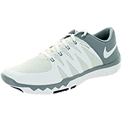 Nike Men's Free Trainer 5.0 V6 Training Shoe (White/Dove Grey)
