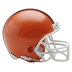 NFL Cleveland Browns Replica Mini Football Helmet by Riddell