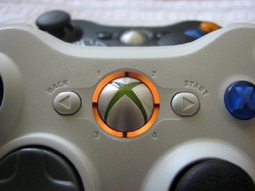 Xbox 360 Controller Led Mod Ring Of Light Leds- Orange