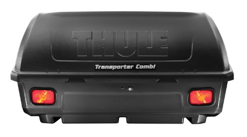 Thule 665C Transporter Combi Hitch-Mount Cargo Box (Cargo Luggage Rack Hitch Mounted compare prices)