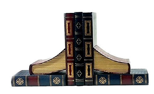 Antiques Style Classic Wooden Book Bookends Library - Collectors Items (Classic Bookends compare prices)