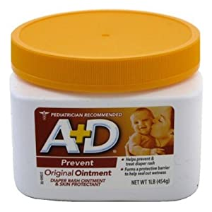 A + D Original Ointment Diaper Rash & Skin Protectant -- 1 lb