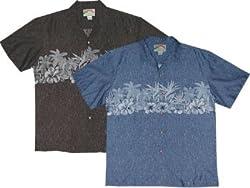 Paradise Chestband- Men's Hawaiian Aloha Shirt