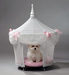 Pet Tent Small Dog Bed - Sugarplum Princess