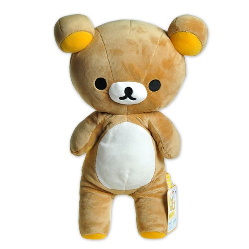 "1 X Rilakkuma Plush 9"" w/ secret pocket (MD09601) by San-X - 1"