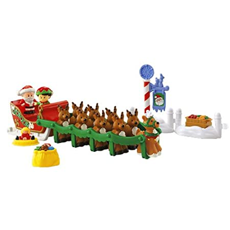 Fisher Price Little People Night Before Christmas Play Set