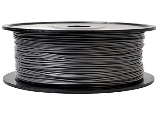Firstcom PLA Filament (1kg Rolle) für 3D Drucker MakerBot RepRap Ultimaker u.v.m (3.00mm, grau)
