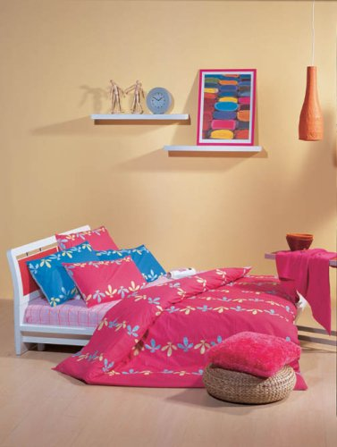 Twin Sweet Dream Collection 4 Pieces Sheets, Duvet Cover And Pillow Shams Set--Blue Color front-980042