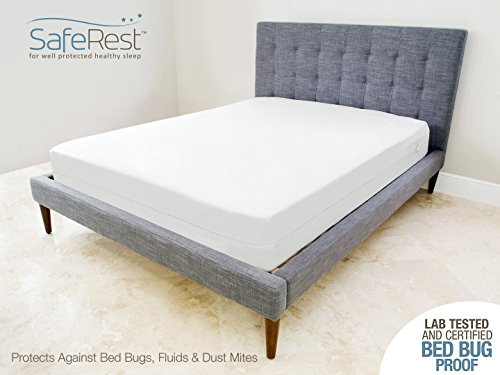 Queen Size SafeRest Waterproof Bed Bug Proof Zippered