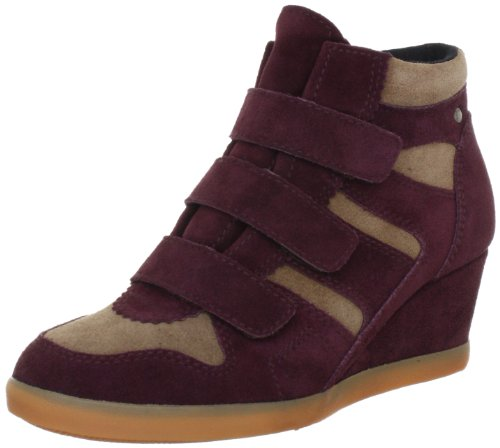Esprit International Lexa Tape Bootie L13116, Damen Fashion Sneakers, Rot (deep bordeaux 646), EU 41