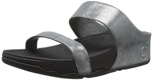 fitflop rokkit slide sandals  black diamond