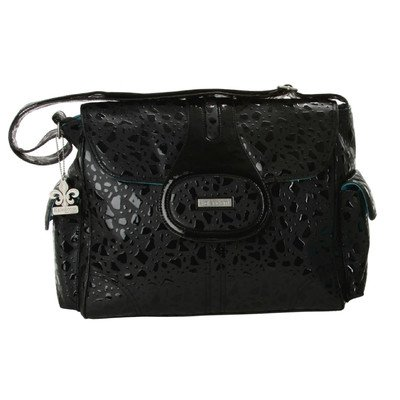 Kalencom Diaper Bag, Elite On the Rocks Black