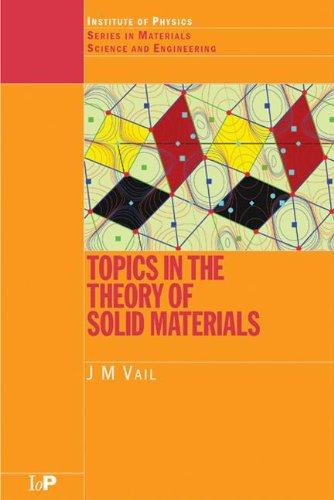 Topics in the Theory of Solid Materials (Series in Material Science and Engineering)