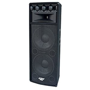 """Pyle Pylepro Padh212 800 W Rms Speaker . 8 Ohm . Floor Standing """"Product Type: Speakers/Component Speakers"""""""