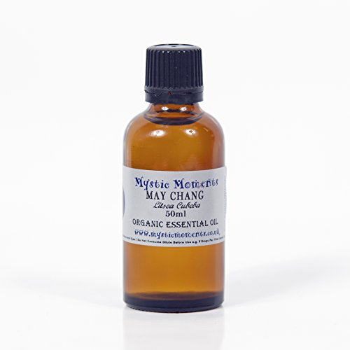 Mystic Moments Litsea Cubeba (May Chang) Organic Essential Oil 50ML
