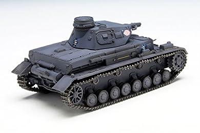 プラッツ ガールズ&パンツァー IV号戦車D型 あんこうチーム 1/72スケール プラモデル GP72-9