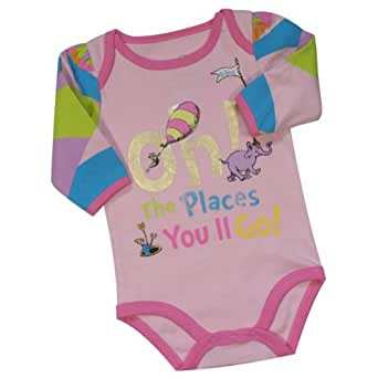 Amazon Dr Seuss Oh The Places You ll Go Infant