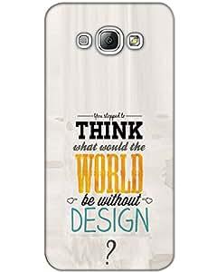 Hugo Samsung Galaxy A7 Back Cover Hard Case Printed