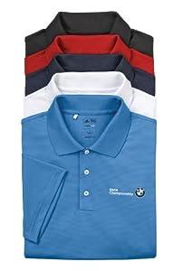BMW Genuine Logo ClimaLite Textured Polo Shirt / Gulf L