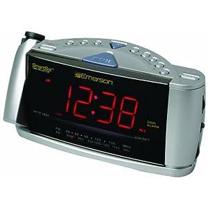 Emerson Cks3528 Smartset Projection Clock Radio With Dual