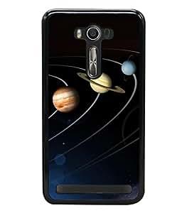 printtech Solar Planets Galaxy Back Case Cover for Asus Zenfone 2 Laser ZE550KL ,Asus Zenfone 2 Laser ZE550KL (5.5 Inches)