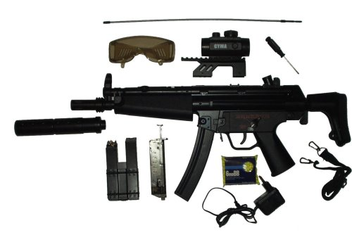KP5 CM023 Airsoft Electric Gun Full Size LOADED