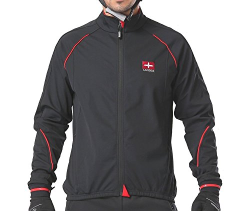 4ucycling-Windproof-Full-Zip-Wind-Jacket-with-3-layers-Composite-Stretchy-Fabric-Black