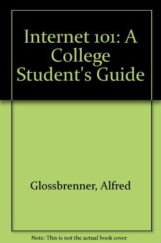 Internet 101: A College Student's Guide PDF