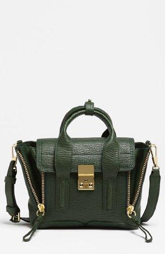 31-phillip-lim-womens-31-phillip-lim-pashli-mini-satchel-in-jade-green-leather-green