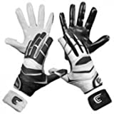 Cutters Gloves C-TACK Revolution Yin Yang Football Gloves (Black, XX-Large)