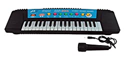 Parteet Musical Keyboard with Microphone for Kids