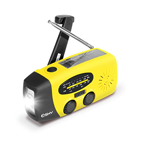 esky-solar-hand-crank-self-powered-emergency-radio-with-led-flashlight-and-1000mah-power-bank