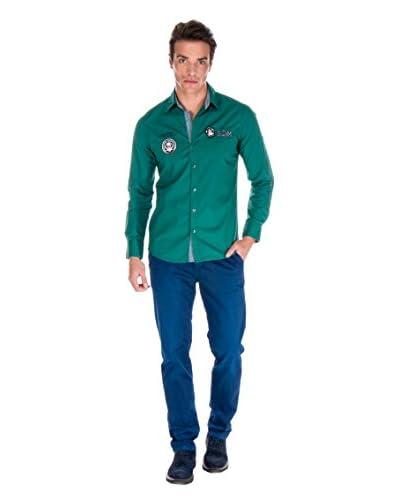 Giorgio Di Mare Camicia Uomo 10917 [Verde]
