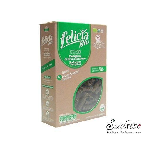 Felicia Tortiglioni Pasta di Grano Saraceno - 340 gr