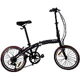 Sueh Q1 Folding Bike Shimano 7 Speed 20 Inch Foldable Bicycle