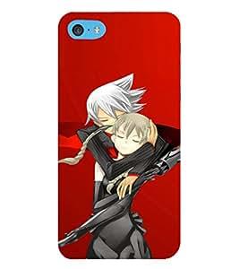 EPICCASE Anime love Mobile Back Case Cover For Apple iPod Touch 6 (Designer Case)