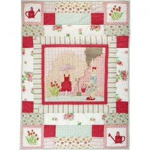 room seven quilt babydecke hasentreff patchwork muster 90x125cm baby. Black Bedroom Furniture Sets. Home Design Ideas
