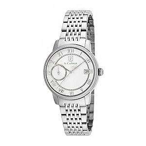 Invicta S. Coifman SC0336 32mm Silver Steel Bracelet & Case Mineral Women's Watch