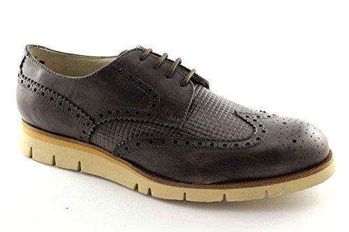 LION 20942 toscano scarpe uomo lacci sportive eleganti derby inglese 47