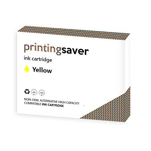 Printing Saver CLI-521 XL GELB (1) Tintenpatrone fur CANON Pixma iP3600, iP3680, iP4600, iP4680, iP4700, MP540, MP550, MP560, MP620, MP630, MP640, MP980, MP990, MX860, MX870 drucker - Kompatibler Ersatz
