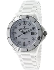 Ceramic Mens Sapphire Crystal White Dial by Sottomarino SM70010-E