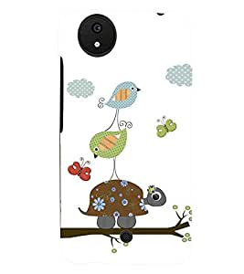 printtech Birds Pattern Back Case Cover for Micromax Android A1::Micromax Canvas A1 AQ4502