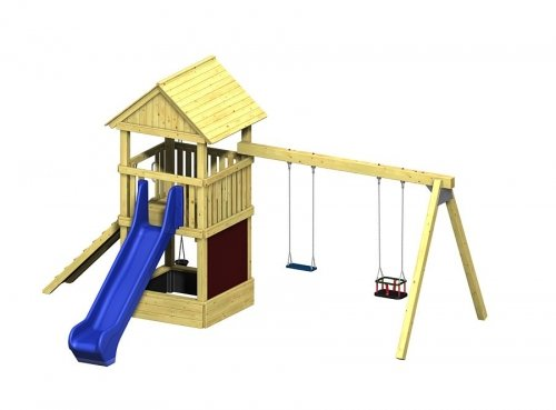 Spielturm Winnetoo Pro Variation 4 – öffentliche Spielanlagen günstig bestellen