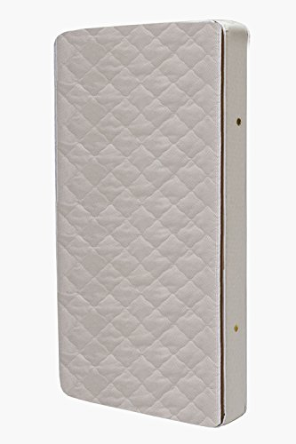 L.A. Baby Euro Top With Soy Foam Core And Organic Cotton Cover Mattress front-1074804