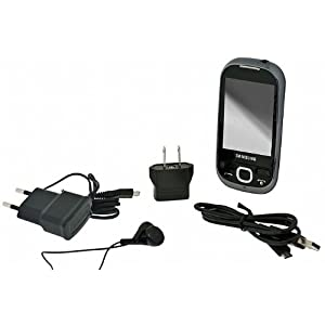Samsung i5500 Corby Galaxy 5 Android Smartphone with Wi-Fi, Bluetooth, GPS, Touch Screen - No Warranty - Black