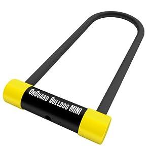 onguard 5014tc bulldog mini bicycle u lock bike u locks sports outdoors. Black Bedroom Furniture Sets. Home Design Ideas