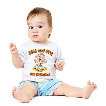 16 x Funshirt Spaßshirt T-Shirt Baby Oma Opa die Besten Gr.56-62
